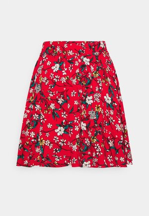VMSIMPLY EASY SHORT SKATER SKIRT - Minigonna - goji berry/lotte