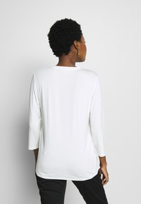 comma casual identity - 3/4 ARM - Blouse - ivory - 2