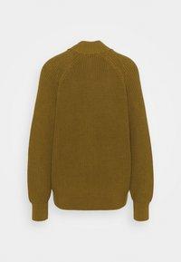 CLOSED - HEAVY JUMPER - Cardigan - golden brown - 1