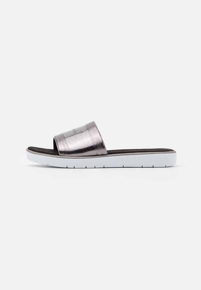 DAKOTA ECO - Sandalias planas - dark grey