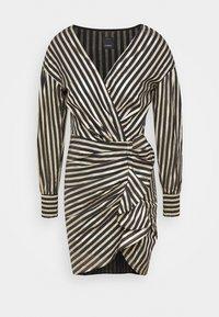 Pinko - CACHACA DRESS - Vestito elegante - nero/oro - 0