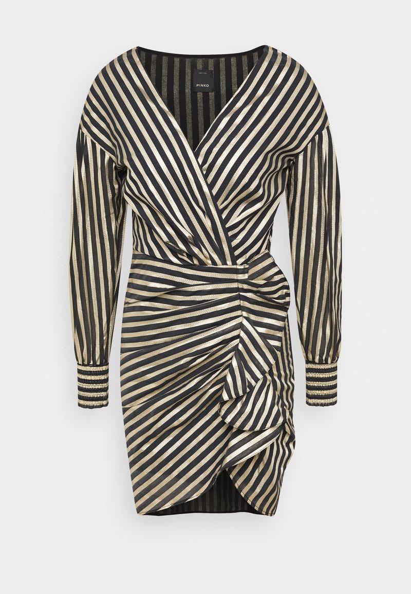Pinko - CACHACA DRESS - Vestito elegante - nero/oro