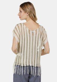 usha - Print T-shirt - wollweiss - 2