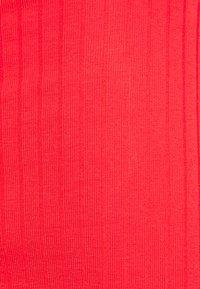 Even&Odd - 2 PACK - Pouzdrové šaty - black/red - 5