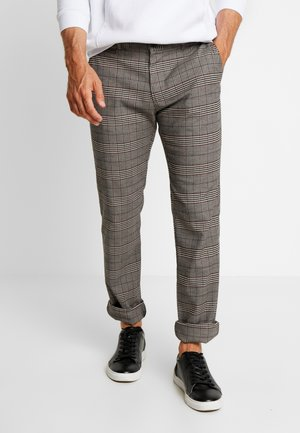 Pantaloni - mottled brown