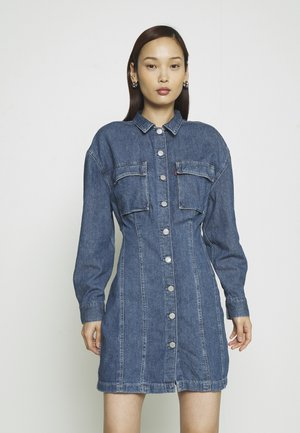 BRAELYN UTILITY DRESS - Spijkerjurk - blue denim