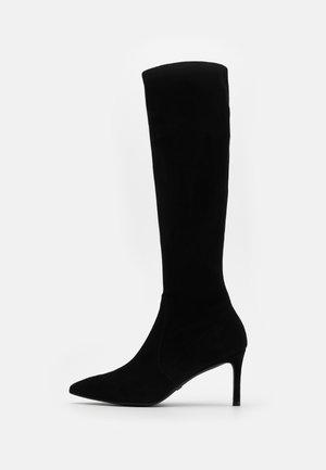 WANESSA  - Vysoká obuv - black