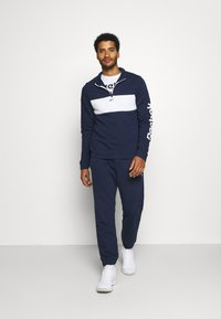 Reebok - LINEAR LOGO SET - Tracksuit - dark blue - 1