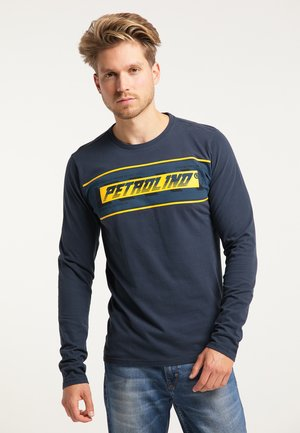 Langærmede T-shirts - deep navy