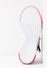 Puma - CALI KARL - Sneakers - white/prism pink - 6