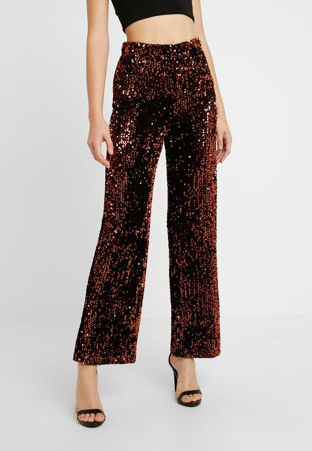 YASWHITNEY PANT - Trousers - black