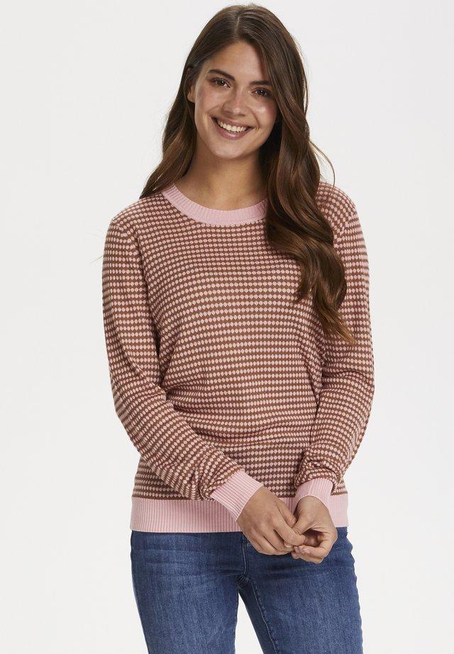 Sweter - candy pink / thrush
