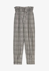 Bershka - MIT GÜRTEL  - Trousers - light grey - 5