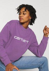 Carhartt WIP - CARHARTT - Sweatshirt - aster/white - 3