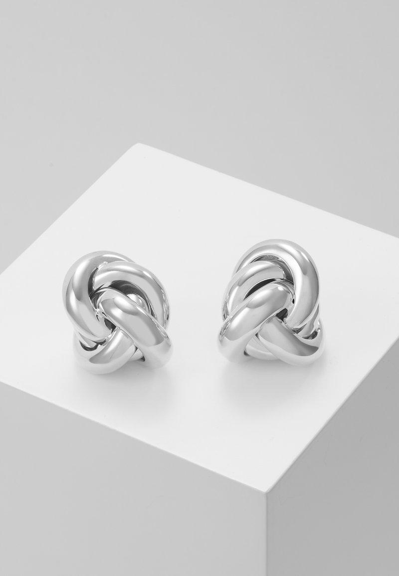 PDPAOLA - SOHO EARRINGS - Örhänge - silver-coloured