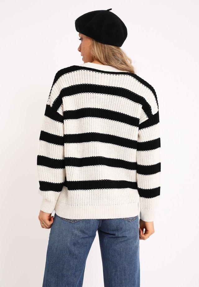 AUS GROBEM STRICK - Sweater - schwarz