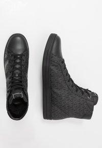 Michael Kors - KEATING TOP - Sneakers alte - black - 1