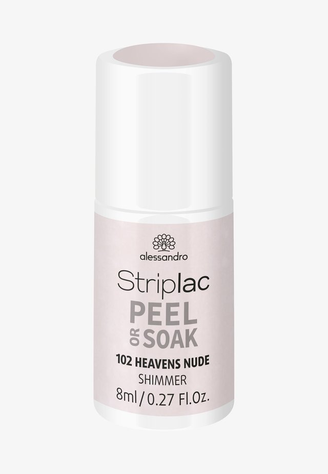 STRIPLAC PEEL OR SOAK UV LAMP - Nail polish - heavens nude