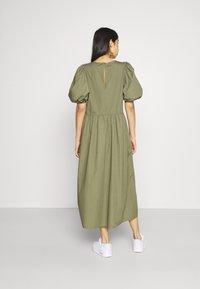Envii - ENSAFFRON DRESS - Maxi dress - deep lichen green - 2