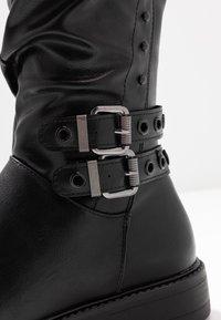 Anna Field - Cowboy/Biker boots - black - 2