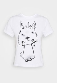 Weekday - FOREVER - Print T-shirt - thirsty dog - 4