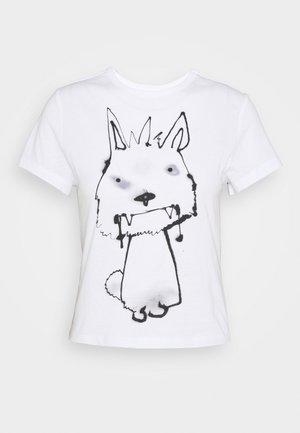 FOREVER - T-shirt print - thirsty dog