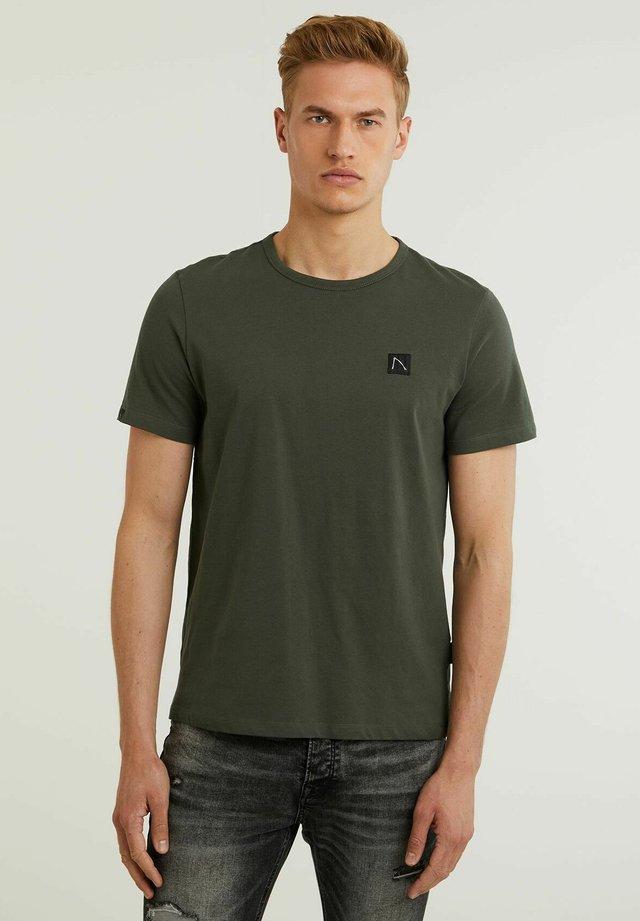BRETT - T-shirt basic - green