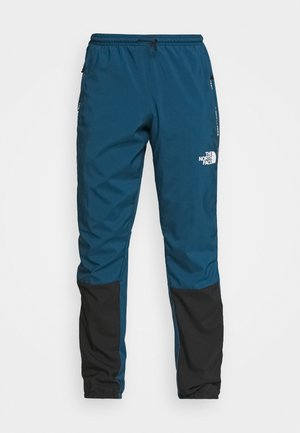 PANT - Trainingsbroek - monterey blue/black