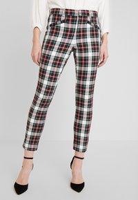 GAP - ANKLE ZIPPER HOLIDAY - Trousers - tartan - 0
