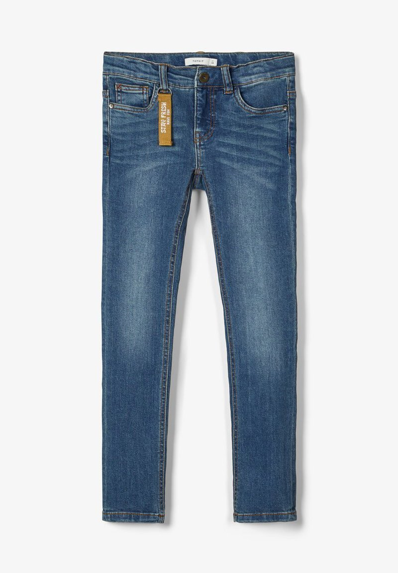 Name it - POWERSTRETCH SKINNY FIT - Jeans Skinny Fit - dark blue denim