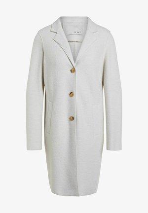 Classic coat - offwhite melange