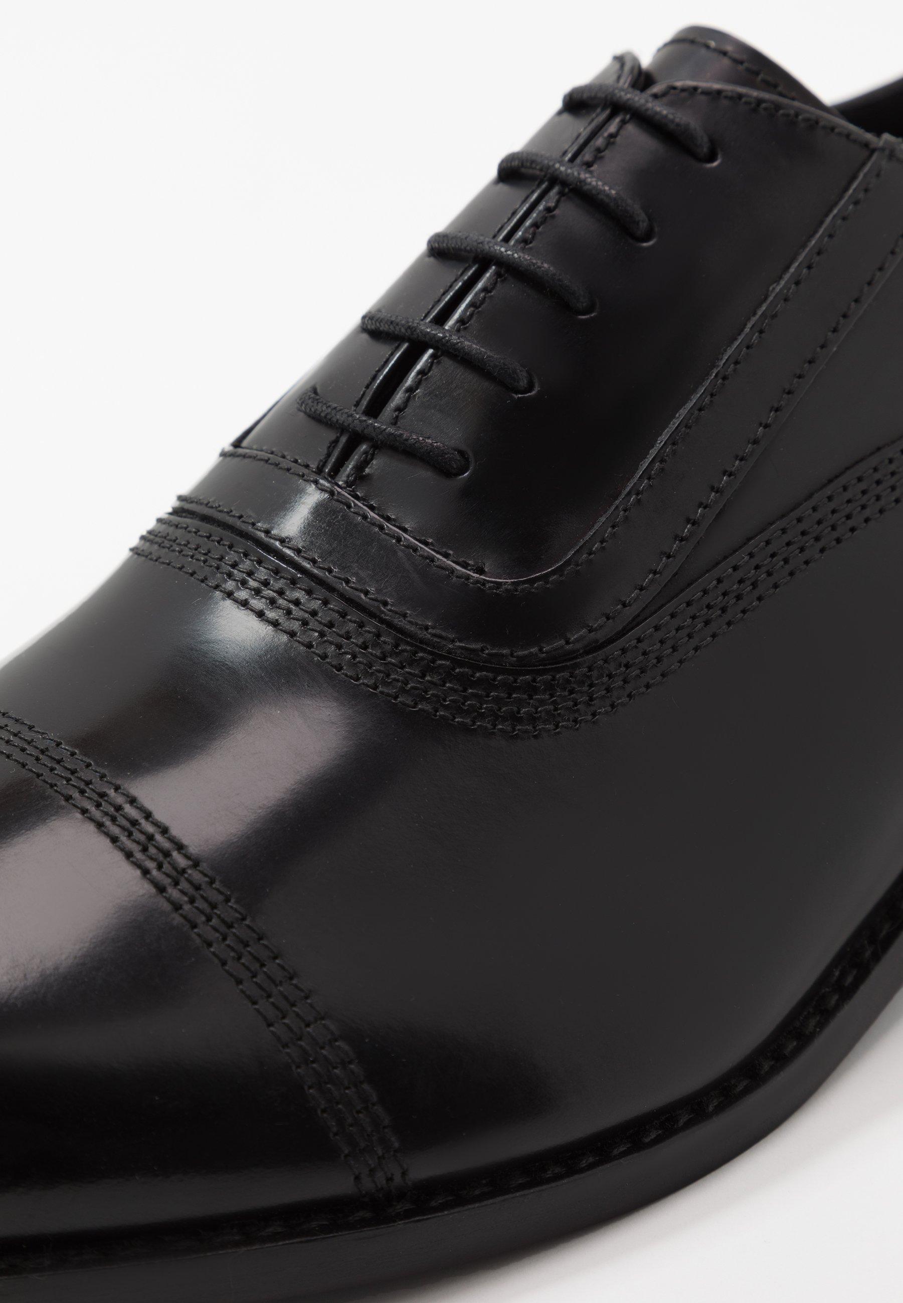 URANO II OXFORD LACE Eleganta snörskor black