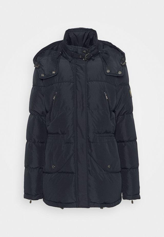 VALE JACKET - Kabát zprachového peří - dark ink