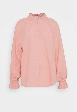 HENRIKE - Button-down blouse - misty rose