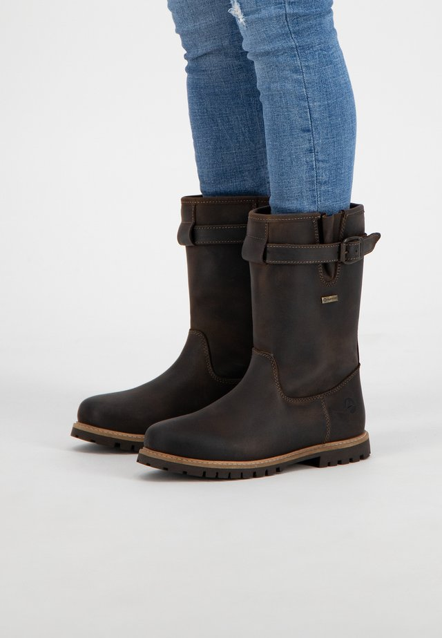 ISLAND - Snowboots  - dark brown