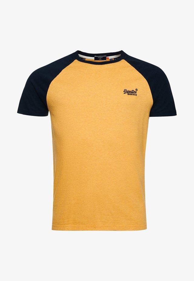 T-shirt imprimé - ochre marl