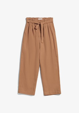 TIMEAA - Trousers - toasted hazel
