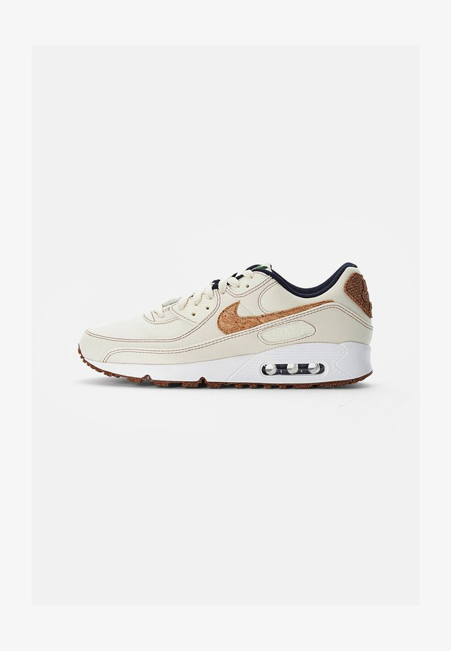 NIKE AIR MAX 90 - Sneakers laag - coconut milk/wheat-obsidian-white