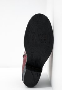 A.S.98 - Cowboy/biker ankle boot - cardinal - 6
