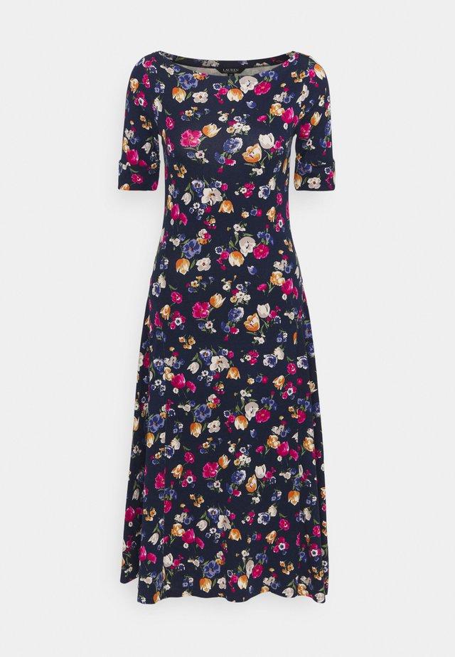 Žerzejové šaty - french navy / multi