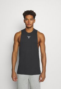 Under Armour - PROJECT ROCK TANK - Top - black - 0