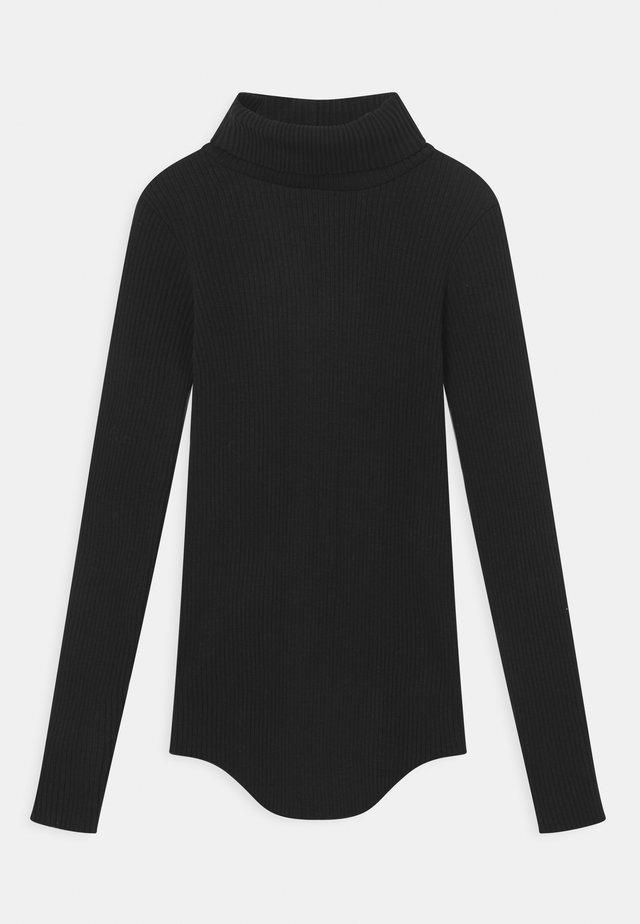 ROMAINE - Long sleeved top - black