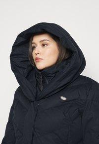 Ragwear Plus - NATALKA PLUS - Zimní kabát - navy - 3