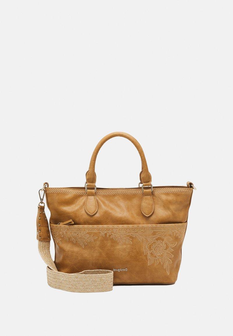 Desigual - BOLS LYRICS HOLLYWOOD SET - Handbag - camel
