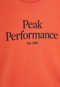 Peak Performance - Pitkähihainen paita - clay red - 3