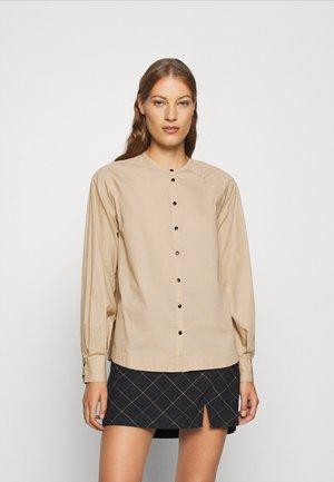 NOVA - Button-down blouse - white paper