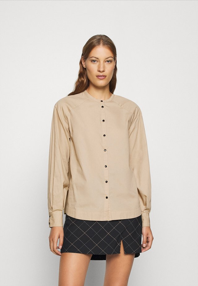 NOVA - Button-down blouse - white paper