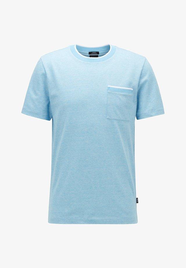 TESSLER  - T-shirt imprimé - turquoise