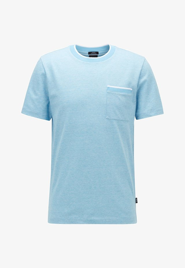 TESSLER  - T-Shirt print - turquoise