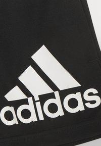 adidas Performance - Krótkie spodenki sportowe - black/white - 2